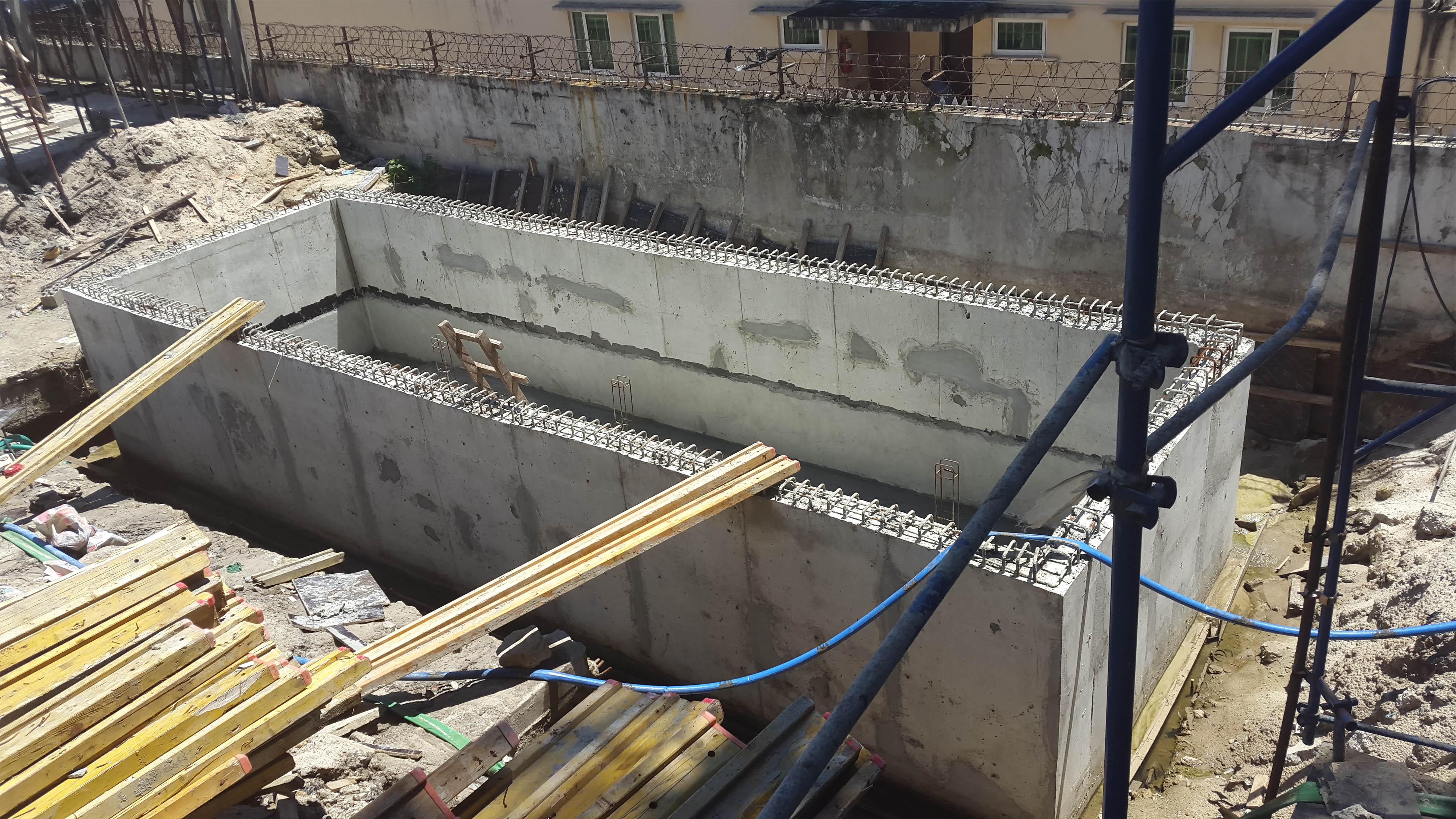 Water Tank Waterproofing : Aquafin krystal admix concrete waterproofing of waste